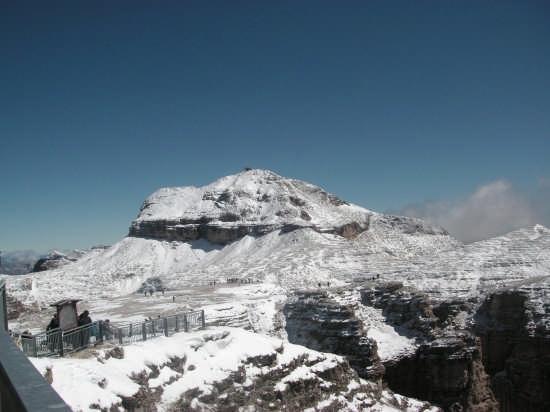 la terrazza del pordoi - Canazei (3136 clic)