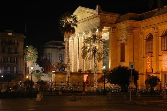 LUCI DI NATALE - Palermo (4635 clic)