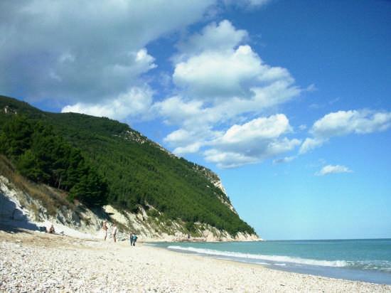 Spiaggia dei Sassi Neri  - Conero (8246 clic)