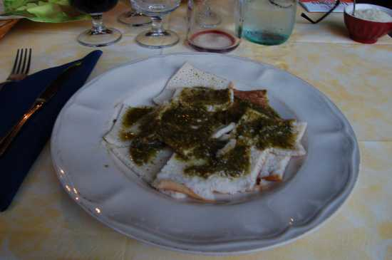 TESTAROLI AL PESTO - Bagnone (3547 clic)