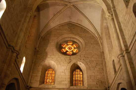 INTERNO   DELL'ABBAZIA - Casamari (3127 clic)