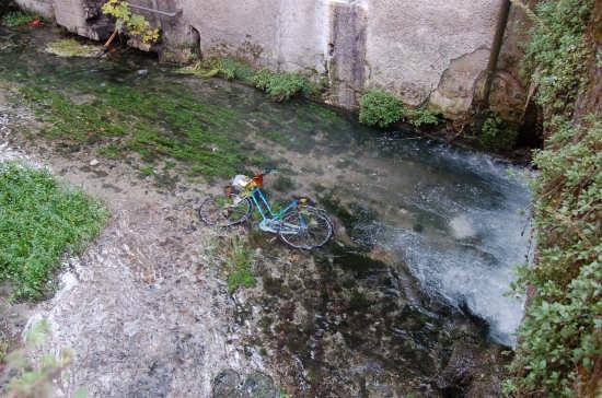 Bici in acqua - Pordenone (2334 clic)