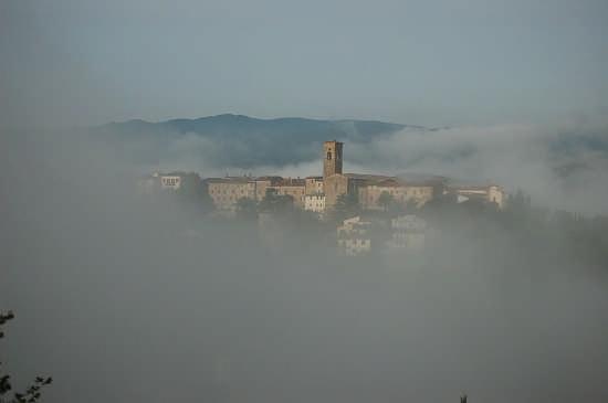Nebbie del mattino | POPPI | Fotografia di Giancarlo Onofrio