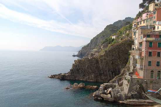 VISTA SUL MARE - Riomaggiore (2627 clic)