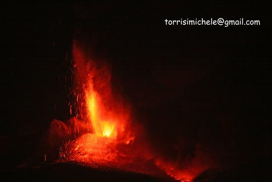 Etna eruzione del 30 luglio 2011 (2386 clic)