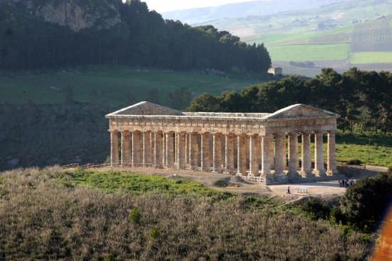 tempio greco - Segesta (9558 clic)