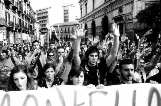 Sciopero Generale -Palermo . (4609 clic)