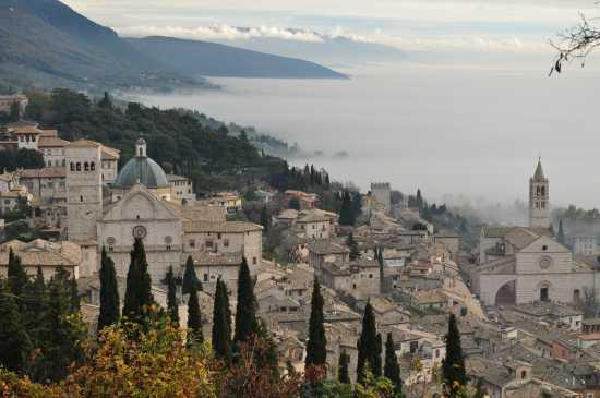 veduta di Assisi (5895 clic)