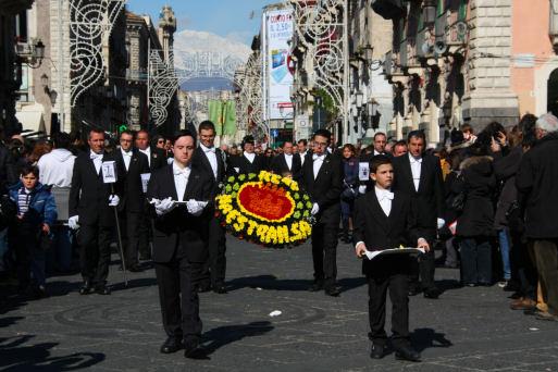 Corteo della cera - Catania (2340 clic)