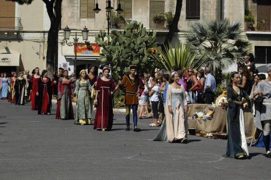 Manifestazione medievale - Catania (2759 clic)