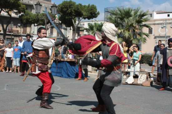 Manifestazione medievale - Catania (2387 clic)