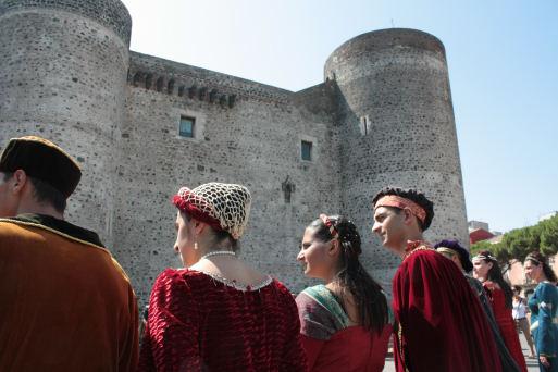 Manifestazione medievale - Catania (2807 clic)
