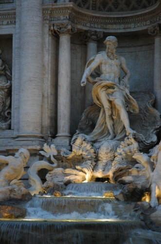Roma - fontana di Trevi (2086 clic)