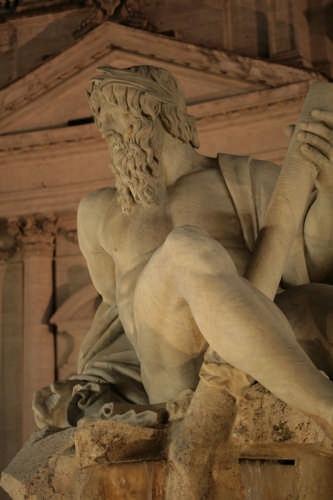 Fontana dei quattro fiumi - Roma (2463 clic)