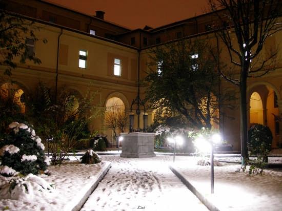 Chiostro Fondazione Don Gnocchi Centro S. Maria ai Servi  - Parma (4294 clic)