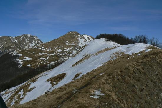 Crinale sopra il Montanaro - Maresca (2117 clic)