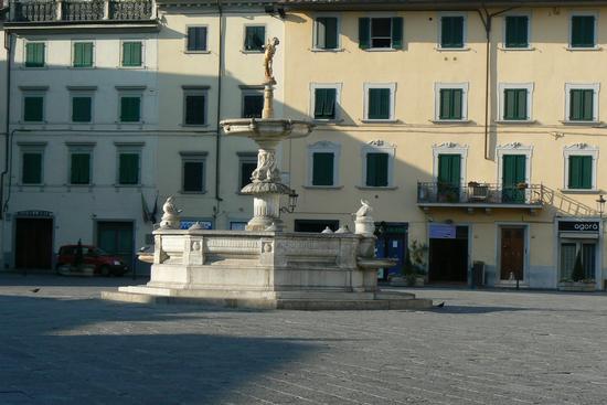 Piazza del Duomo - Fontana del Papero - Prato (1235 clic)