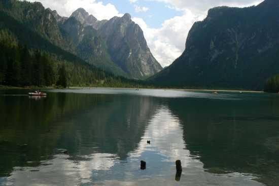 Il lago di Dobbiaco (3240 clic)