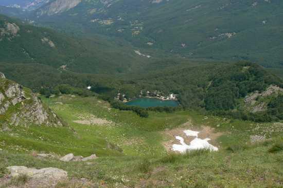 Il Lago Santo - Pievepelago (3804 clic)