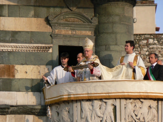 Ostensione della sacra cingola - Prato (2635 clic)