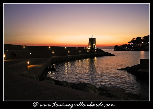 Recco, tramonto | RECCO | Fotografia di Tonino Giallombardo