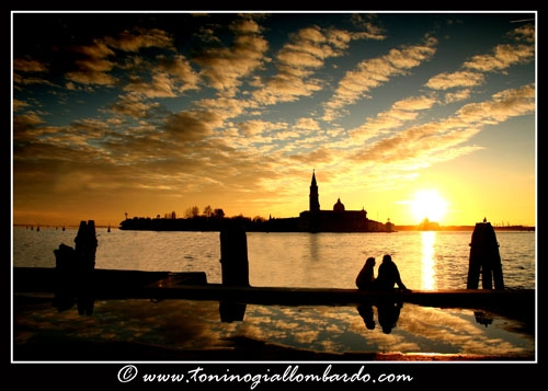 Venice, love at sunset - Venezia (3501 clic)