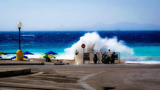 Rodi Grecia panorama vista mare. (102 clic)