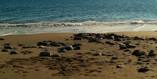 Sabbia e pietre - Arenzano (2982 clic)
