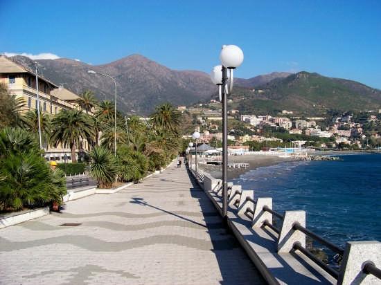 Passeggiata a mare - Arenzano (11858 clic)