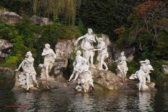 la fontana di Diana - Caserta (2028 clic)