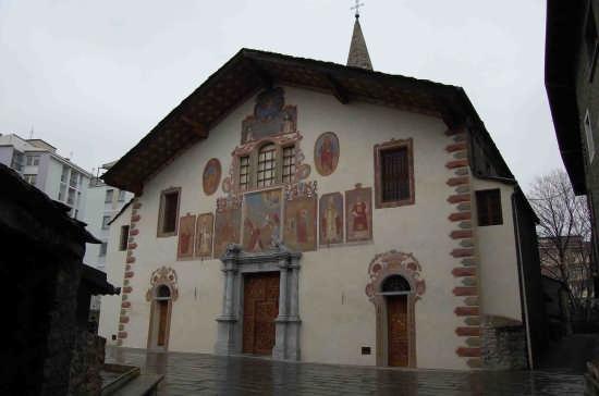 Aosta-chiesa di S.Stefano (4710 clic)