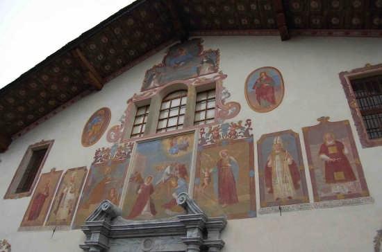 Aosta-chiesa di S.Stefano particolare (5104 clic)