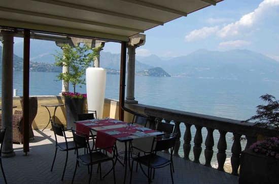 vista lago da Ristorante Sottovento - Lierna (4300 clic)