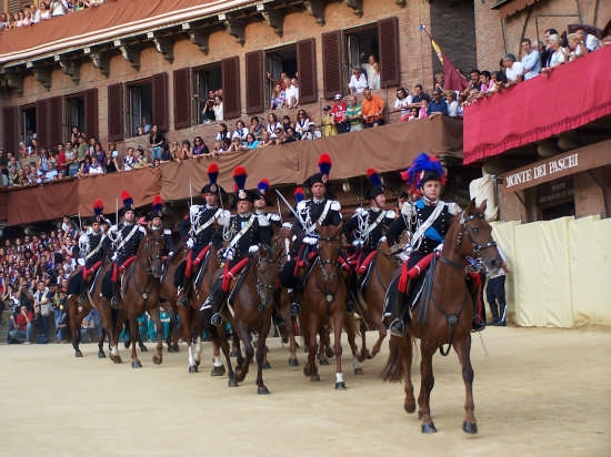 Sfilata storica - Siena (2607 clic)