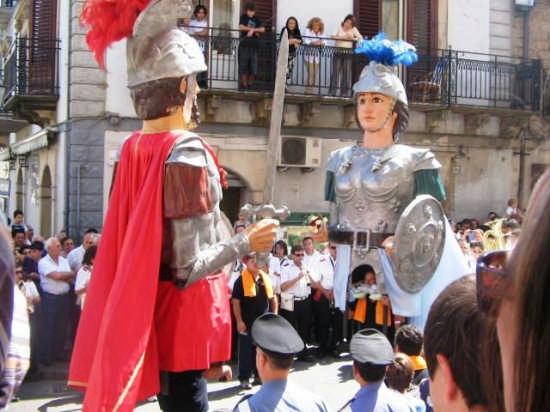 Ballo dei Giganti  Gisanti 8 settembre 2008 - Mistretta (3587 clic)
