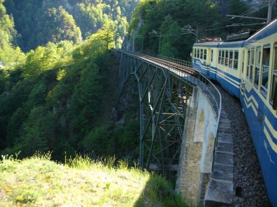 Il trenino di Domodossola - Savona (3198 clic)
