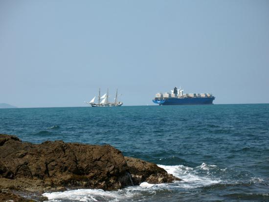 Trasporto via mare  - Livorno (2578 clic)