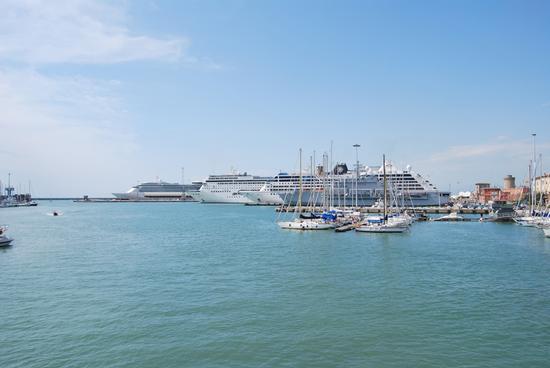 Il porto - Livorno (1361 clic)