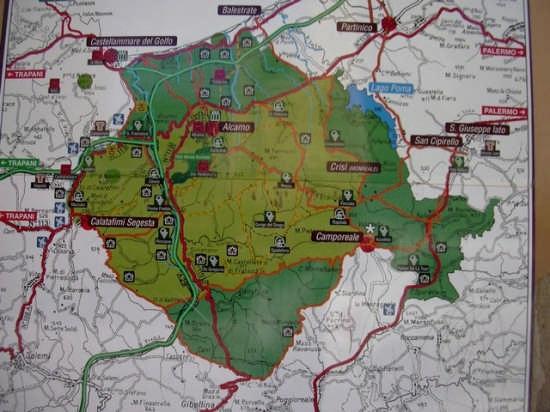 La mappa  - Alcamo (4288 clic)