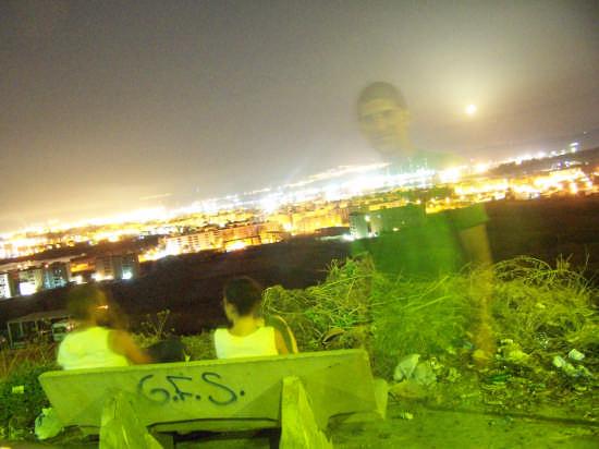 ...una veduta di luci (zona monte) - Augusta (3013 clic)
