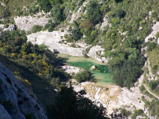 ...laghetti  a cava grande, valle dell'anapo - Augusta (4556 clic)