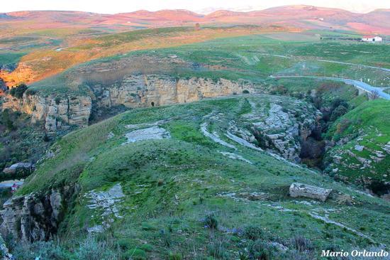 Canyon delle Due Rocche a Corleone... (2112 clic)