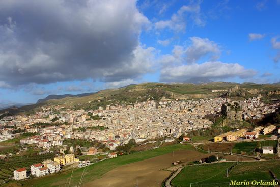 Città di Corleone panorama . . . (2023 clic)