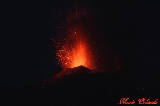 Eruzione dell'Etna agosto 2014... - Linguaglossa (618 clic)
