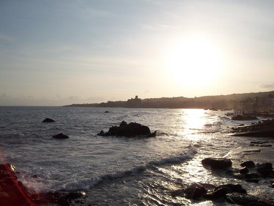 tramonto - Aci castello (1599 clic)