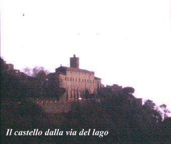 Castello Ruspoli lato est - Nemi (1823 clic)