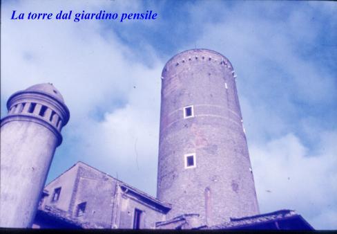 Castello Ruspoli -La torre - Nemi (2135 clic)
