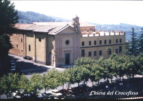 Chiesa del SS. Crocifisso - Nemi (3646 clic)