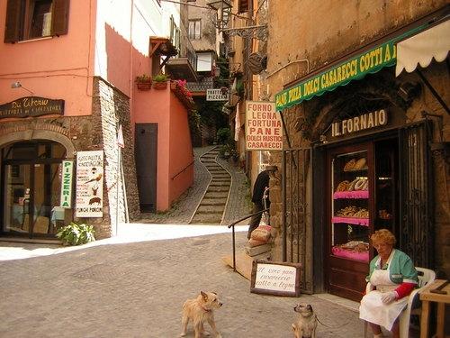 NEMI - Salita Garibaldi (3303 clic)
