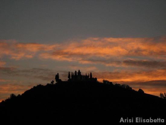 Gussago: la Santissima al tramonto (2911 clic)
